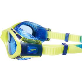 speedo Futura Biofuse Flexiseal Lunettes de protection Enfant, new surf/lime punch/bondi blue